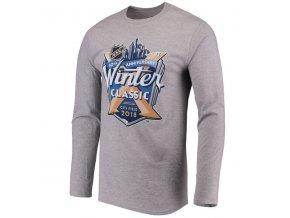 Tričko NHL Winter Classic 2018 Buffalo Sabres vs New York Rangers Event Logo longsleeve
