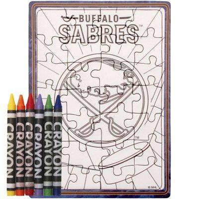 Buffalo Sabres puzzle s vlastním vybarvením