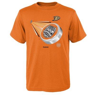 Reebok Dětské tričko Anaheim Ducks Future Puck Velikost: Dětské M (9 - 11 let)