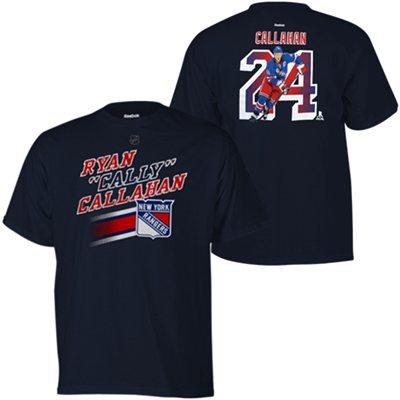 Reebok Dětské tričko Ryan Callahan #24 New York Rangers Velikost: Dětské M (9 - 11 let)
