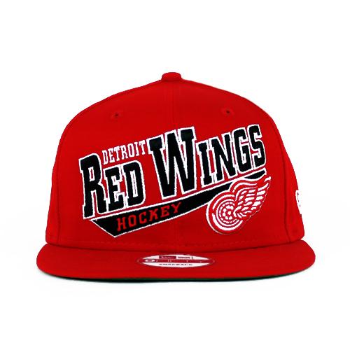 Kšiltovka - Detroit Red Wings -SKEW Script- New Era 9FIFTY snapback