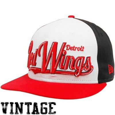New Era Kšiltovka - Detroit Red Wings White-Red-Black 9FIFTY snapback