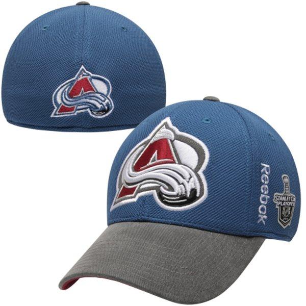 Reebok Kšiltovka Colorado Avalanche Playoffs Stanley Cup 2014 Velikost: S/M