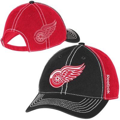 Reebok Kšiltovka Detroit Red Wings Face-Off Spin Adjustable