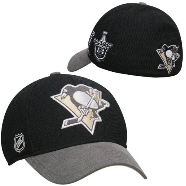 Reebok Kšiltovka Pittsburgh Penguins Playoffs Stanley Cup 2014 Velikost: S/M