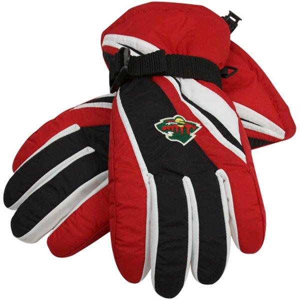 Reebok Lyžařské rukavice - Minnesota Wild Velikost: M