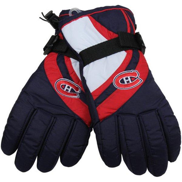 Reebok Lyžařské rukavice - Montreal Canadiens Velikost: M