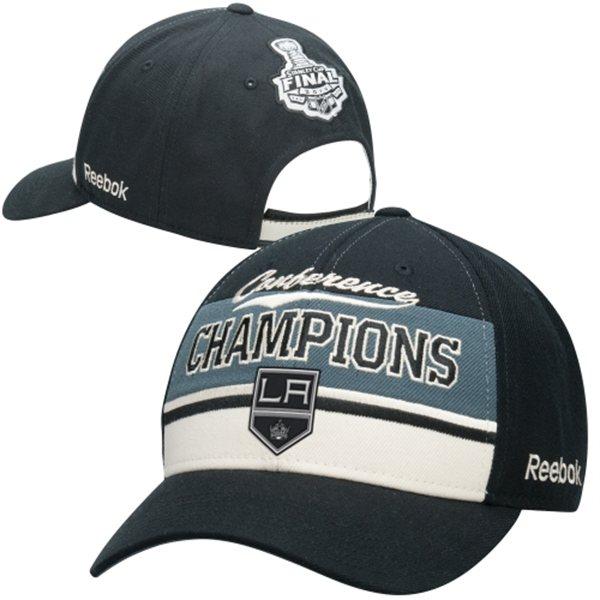 Reebok NHL kšiltovka Los Angeles Kings 2014 Western Conference Champions
