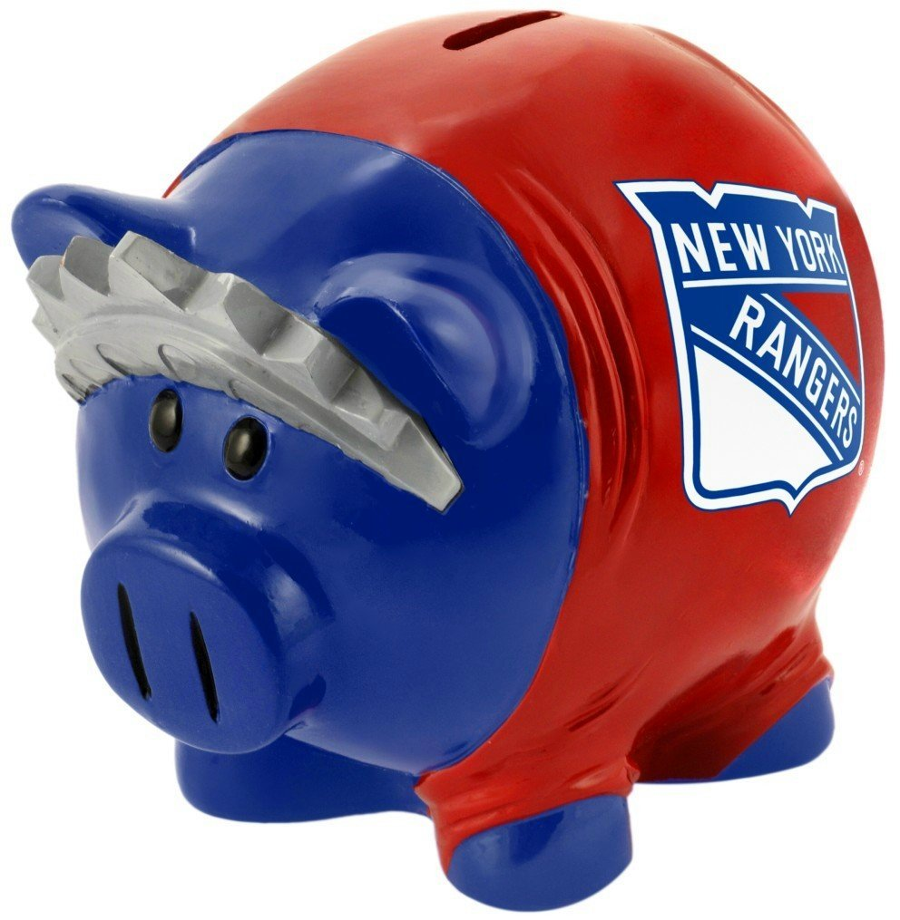 Forever Collectibles Prasátko Thematic - New York Rangers