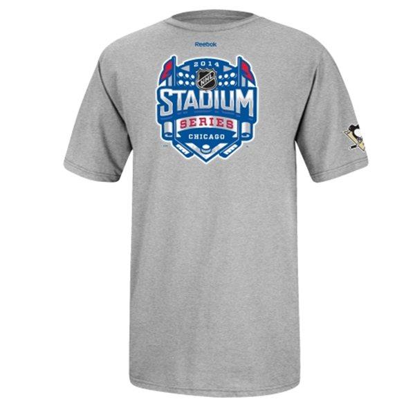 Reebok Tričko Pittsburgh Penguins 2014 Stadium Series Logo Velikost: L