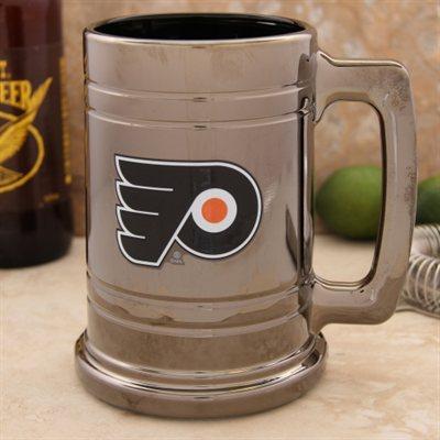 Třetinková sklenice Philadelphia Flyers Chrome