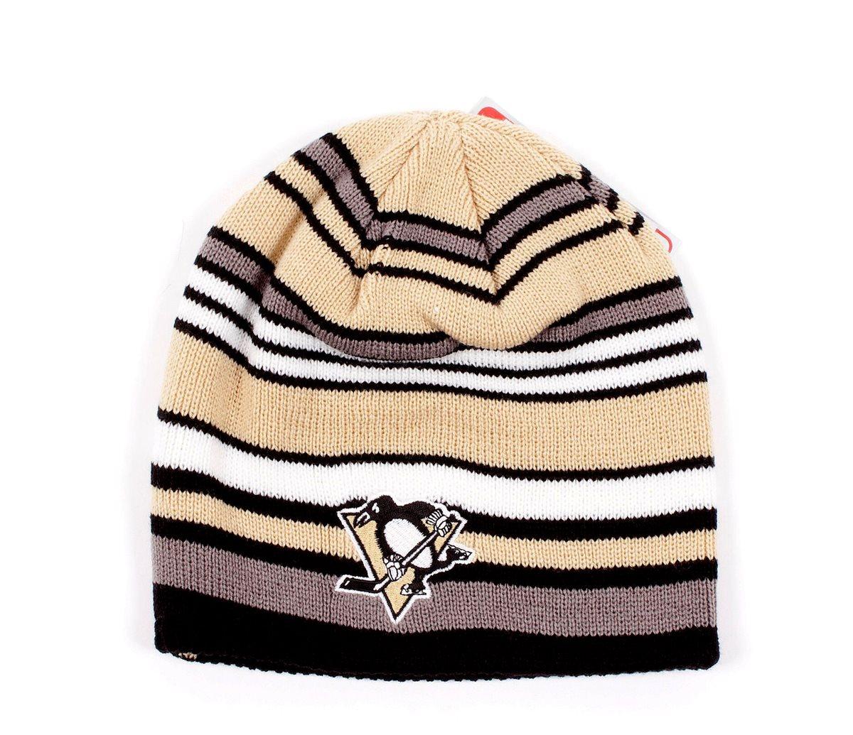 Reebok Čepice Pittsburgh Penguins Cuffless