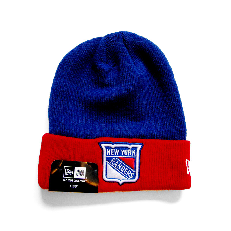 New Era Čepice New York Rangers contrast cuffed