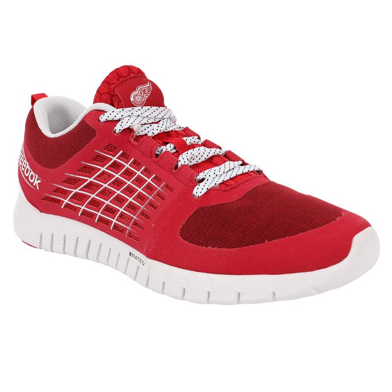 Reebok Sportovní boty Detroit Red Wings ZQuick 2.0 Flow Velikost: 8.5 (US) = 7.5 (UK) = 41 (EU)