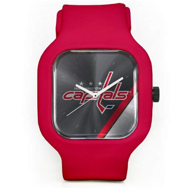 Old Time Hockey Hodinky Washington Capitals Modify Watches Unisex Silicone - červené