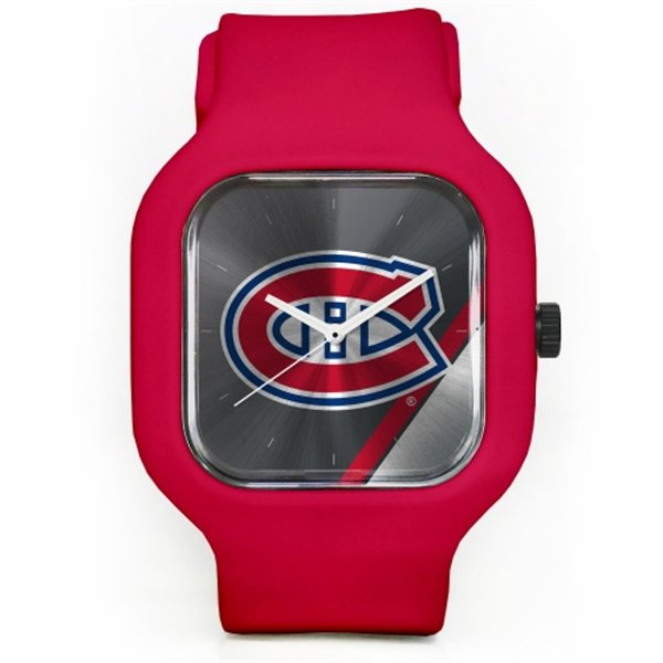 Old Time Hockey Hodinky Montreal Canadiens Modify Watches Unisex Silicone - červené