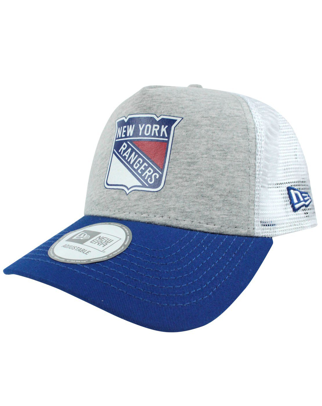 Kšiltovka New York Rangers NEW ERA Trucker Jersey Mesh