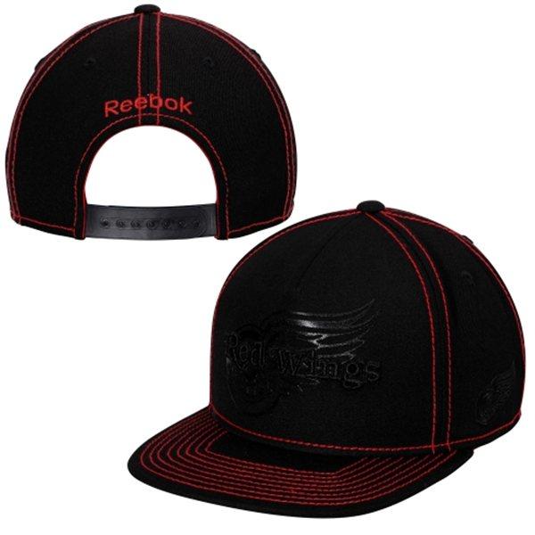 Kšiltovka Detroit Red Wings Reebok Cross Check Snapback