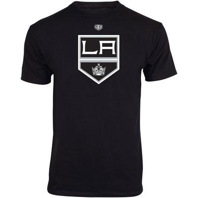 Old Time Hockey Dětské NHL tričko Los Angeles Kings Big Logo Crest Velikost: Dětské S (6 - 8 let)