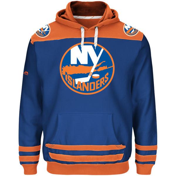 Majestic Mikina New York Islanders Double Minor - modrá Velikost: M