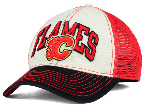 Reebok Kšiltovka Calgary Flames Felt Mesh Slouch Cap Velikost: S/M