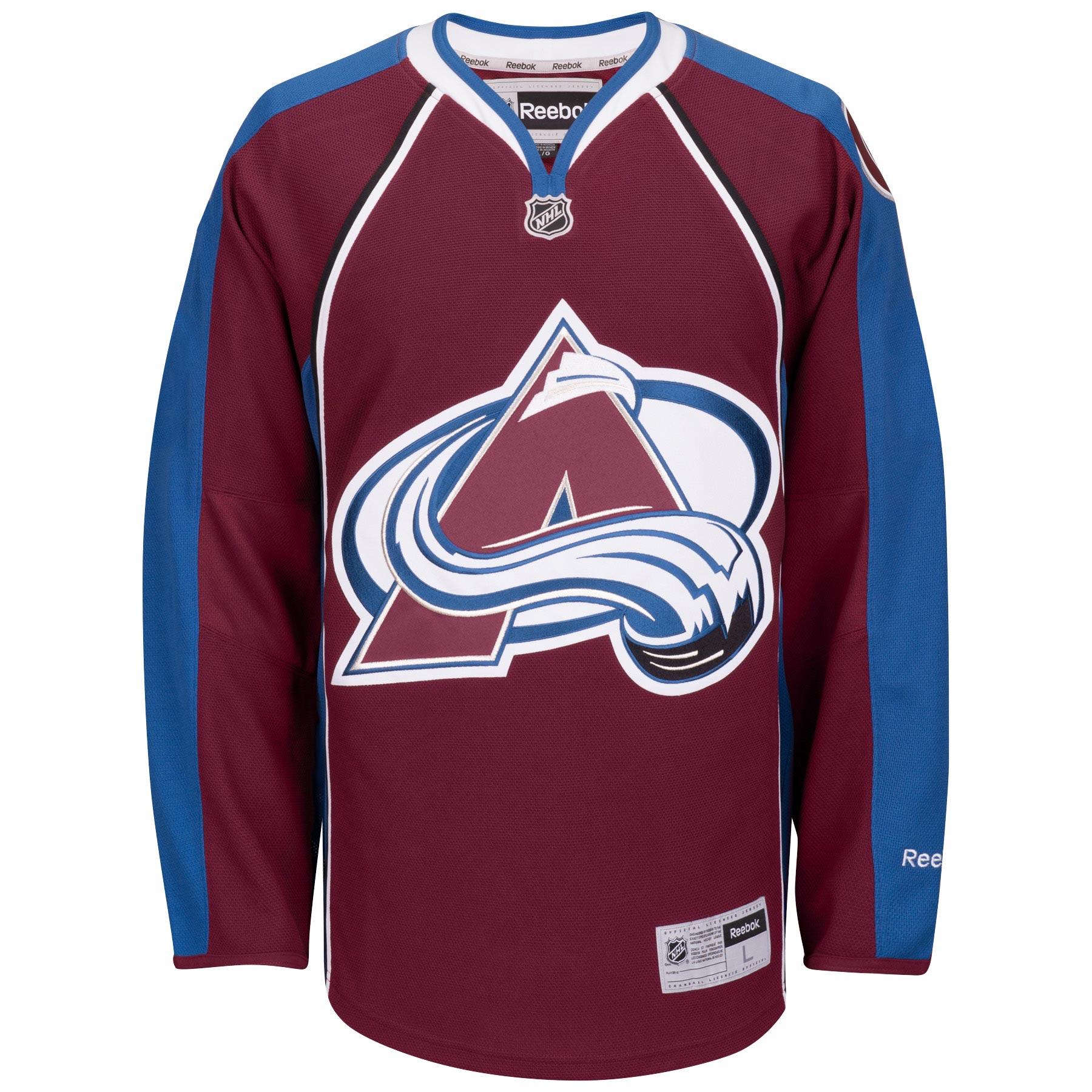 Reebok Dres Colorado Avalanche Premier Jersey Home Velikost: L, Distribuce: Kanada