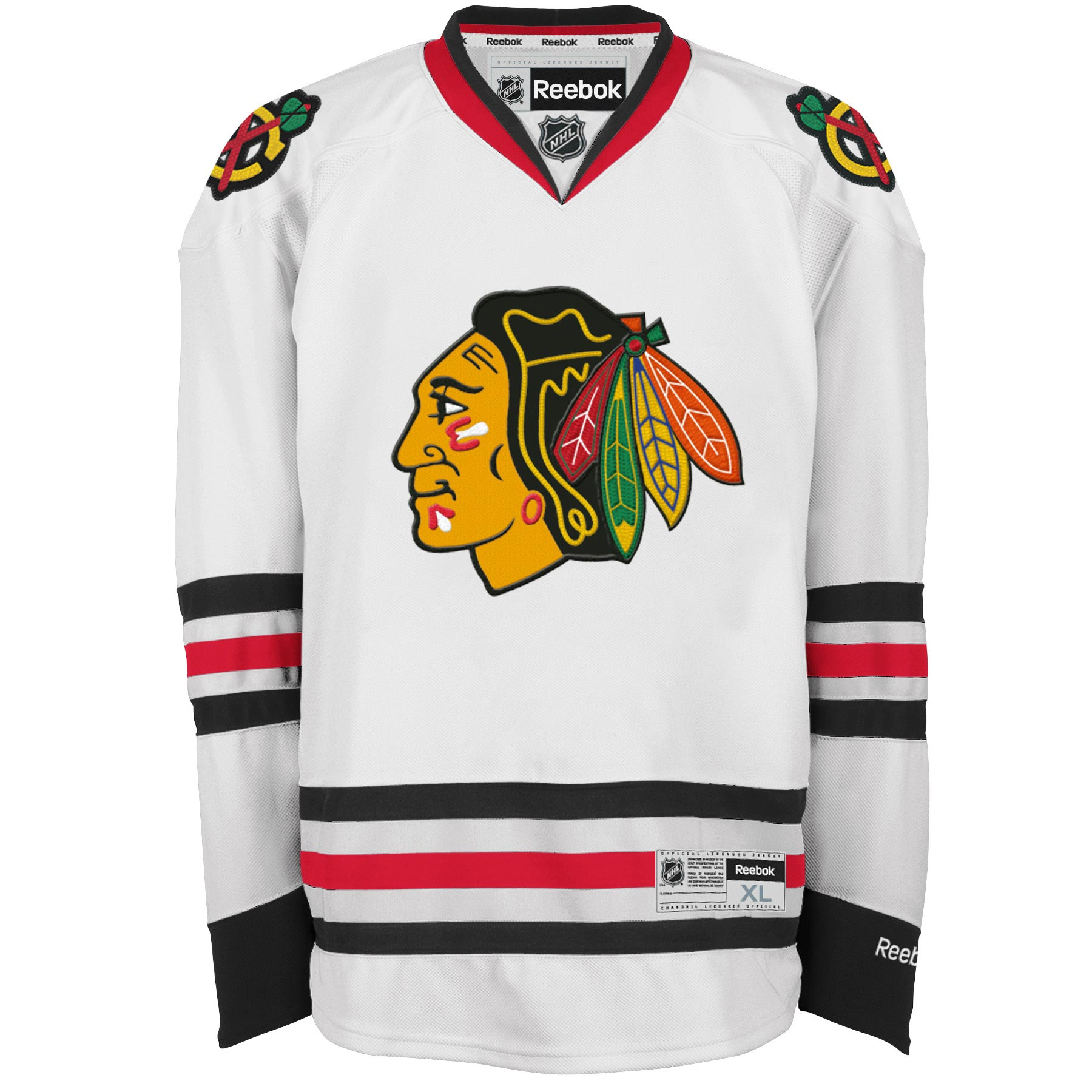Reebok Dres Chicago Blackhawks Premier Jersey Away Velikost: XXL, Distribuce: Kanada
