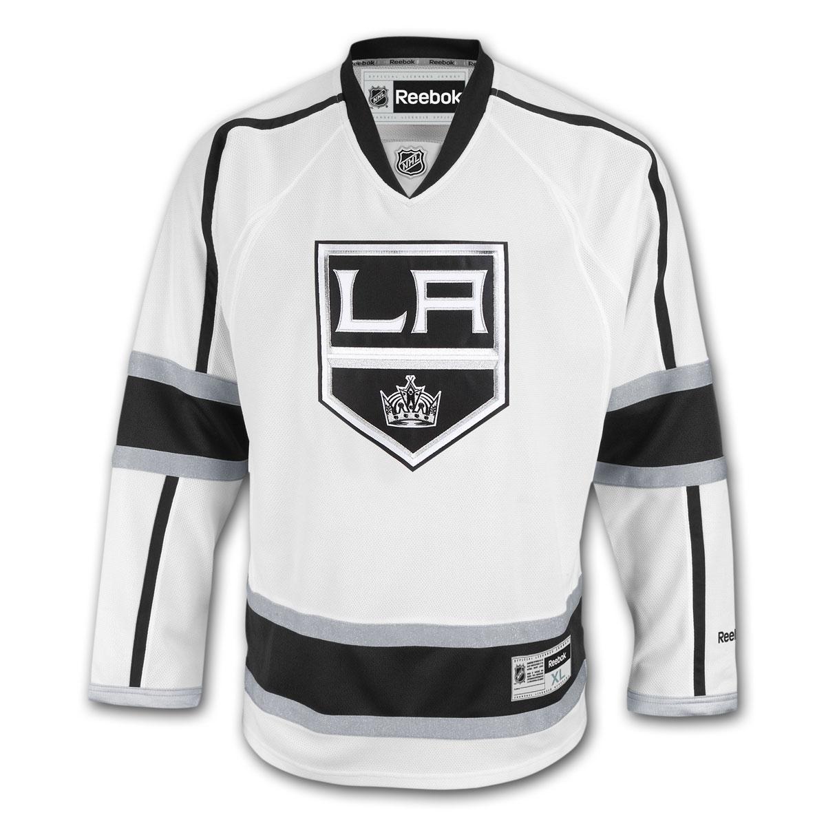 Reebok Dres Los Angeles Kings Premier Jersey Away Velikost: XXXL, Distribuce: USA