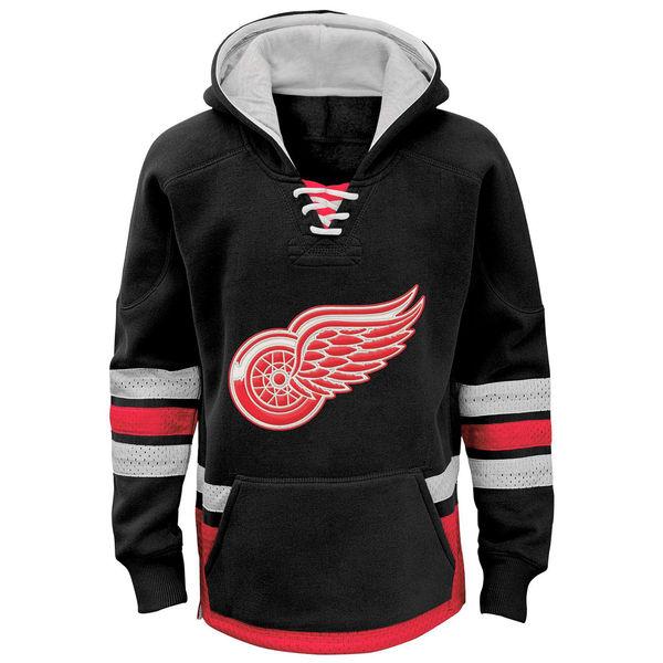 Reebok Dětská mikina Detroit Red Wings Retro Skate Velikost: Teenager XL (16 - 18 let)