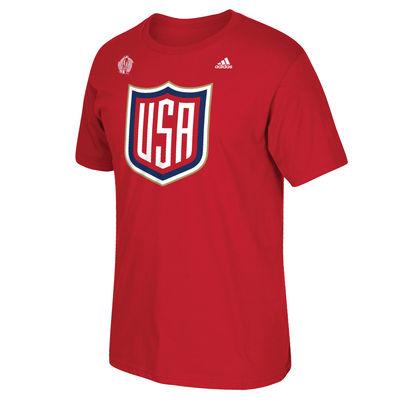 Adidas Tričko Team USA Světový Pohár 2016 Velikost: XXL