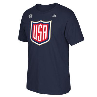 Adidas Tričko Team USA Navy Světový Pohár 2016 Velikost: XL