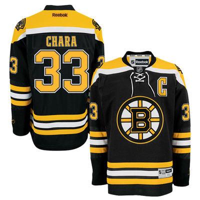 Reebok Dres Zdeno Chára #33 Boston Bruins Premier Jersey Home Velikost: S