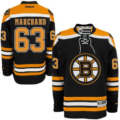 Reebok Dres Brad Marchand #63 Boston Bruins Premier Jersey Home Velikost: S