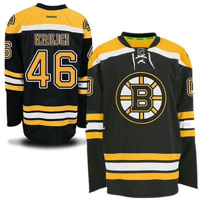 Reebok Dres David Krejčí #46 Boston Bruins Premier Jersey Home Velikost: S