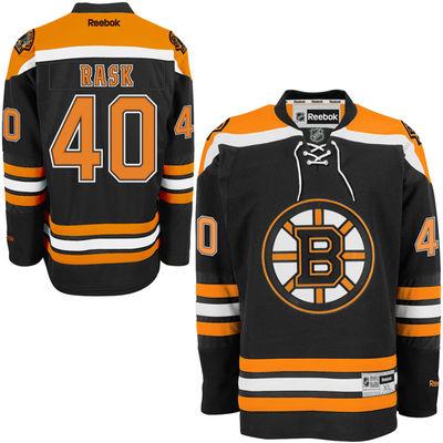 Reebok Dres Tuukka Rask #40 Boston Bruins Premier Jersey Home Velikost: S