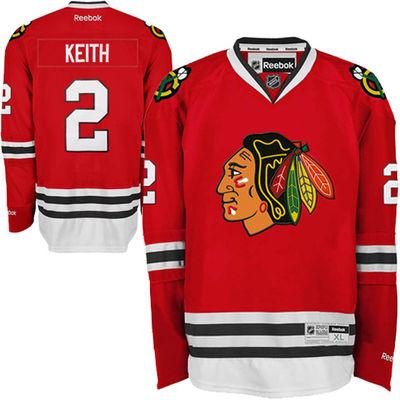 Reebok Dres Duncan Keith #2 Chicago Blackhawks Premier Jersey Home Velikost: L