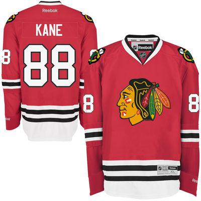 Reebok Dres Patrick Kane #88 Chicago Blackhawks Premier Jersey Home Velikost: XL