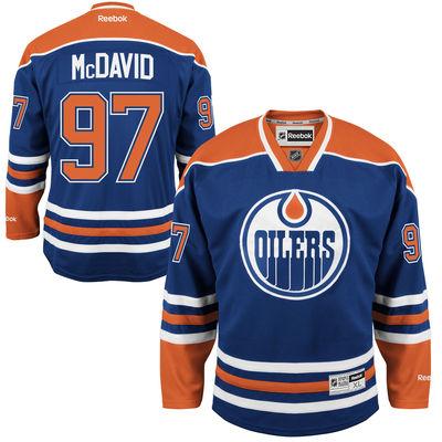 Reebok Dres Connor McDavid #97 Edmonton Oilers Premier Jersey Home Velikost: S