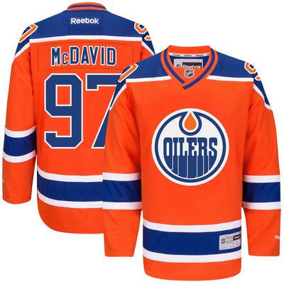 Reebok Dres Connor McDavid #97 Edmonton Oilers Premier Jersey Third Velikost: S