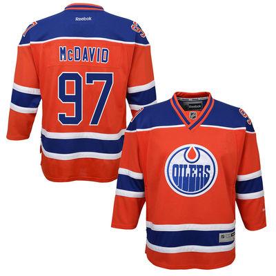 Reebok Dres Connor McDavid #97 Edmonton Oilers Premier Jersey Third dětský Velikost: S/M
