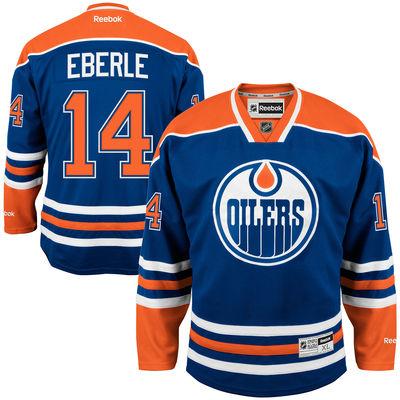 Reebok Dres Jordan Eberle #14 Edmonton Oilers Premier Jersey Home Velikost: S