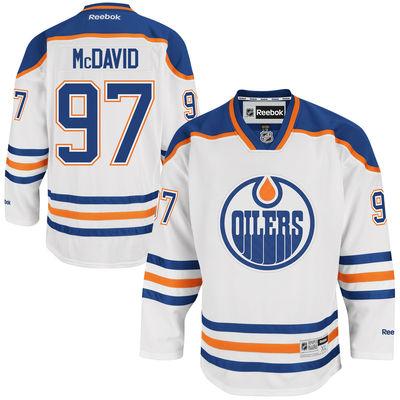 Reebok Dres Connor McDavid #97 Edmonton Oilers Premier Jersey Away Velikost: S