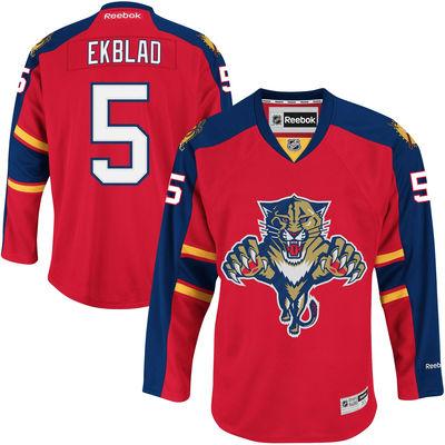 Reebok Dres Aaron Ekblad #5 Florida Panthers Premier Jersey Home (2011-2016) Velikost: S