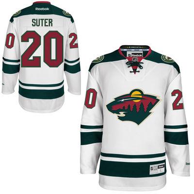 Reebok Dres Ryan Suter #20 Minnesota Wild Premier Jersey Away Velikost: XXL