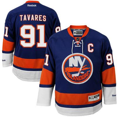 Reebok Dres John Tavares #91 New York Islanders Premier Jersey Home Velikost: S