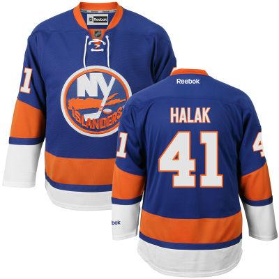 Reebok Dres Jaroslav Halak #41 New York Islanders Premier Jersey Home Velikost: S