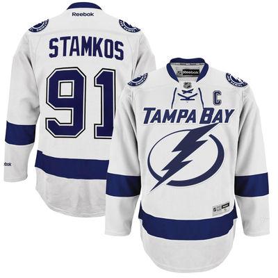 Reebok Dres Steven Stamkos #91 Tampa Bay Lightning Premier Jersey Away Velikost: S