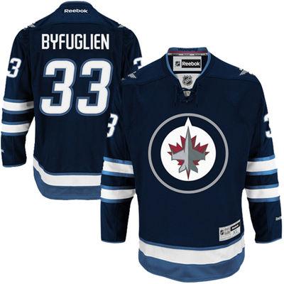 Reebok Dres Dustin Byfuglien #33 Winnipeg Jets Premier Jersey Home Velikost: S