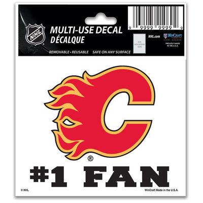 Samolepka Calgary Flames #1 Fan