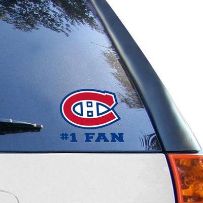 Samolepka Montreal Canadiens #1 Fan